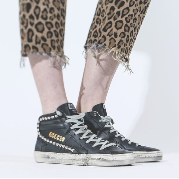 golden goose studded high tops review